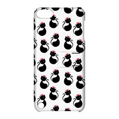 Cat Seamless Animal Pattern Apple iPod Touch 5 Hardshell Case with Stand by Amaryn4rt