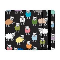 Sheep Cartoon Colorful Samsung Galaxy Tab Pro 8 4  Flip Case by Amaryn4rt