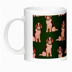 Dog Animal Pattern Night Luminous Mugs