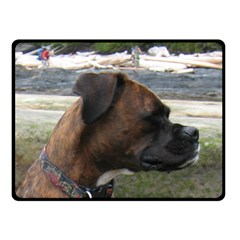 Boxer Brindle Double Sided Fleece Blanket (Small)  by TailWags