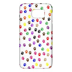 Paw Prints Background Galaxy S6 by Amaryn4rt