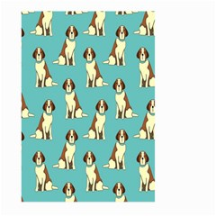 Dog Animal Pattern Large Garden Flag (two Sides) by Amaryn4rt