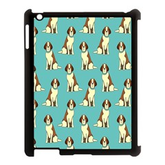 Dog Animal Pattern Apple Ipad 3/4 Case (black) by Amaryn4rt