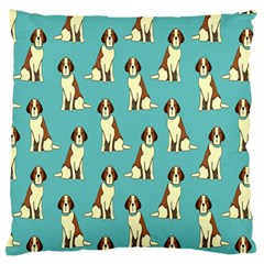 Dog Animal Pattern Standard Flano Cushion Case (one Side) by Amaryn4rt