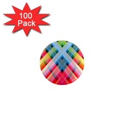 Graphics Colorful Colors Wallpaper Graphic Design 1  Mini Magnets (100 Pack)  by Amaryn4rt