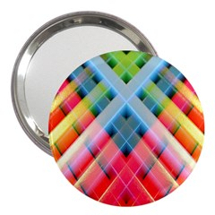 Graphics Colorful Colors Wallpaper Graphic Design 3  Handbag Mirrors by Amaryn4rt