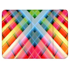 Graphics Colorful Colors Wallpaper Graphic Design Samsung Galaxy Tab 7  P1000 Flip Case by Amaryn4rt