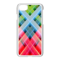 Graphics Colorful Colors Wallpaper Graphic Design Apple Iphone 7 Seamless Case (white) by Amaryn4rt