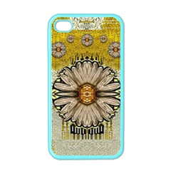Power To The Big Flower Apple Iphone 4 Case (color) by pepitasart