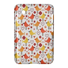 Animal Pattern Happy Birds Seamless Pattern Samsung Galaxy Tab 2 (7 ) P3100 Hardshell Case  by Amaryn4rt