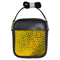 Jack Shell Jack Fruit Close Girls Sling Bags by Amaryn4rt