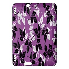 Floral Pattern Background Kindle Fire Hdx Hardshell Case by Amaryn4rt