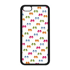 Pattern Birds Cute Design Nature Apple Iphone 5c Seamless Case (black)