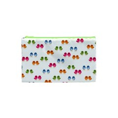 Pattern Birds Cute Design Nature Cosmetic Bag (xs) by Amaryn4rt
