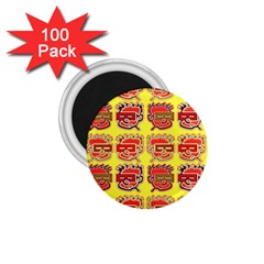 Funny Faces 1 75  Magnets (100 Pack)  by Amaryn4rt