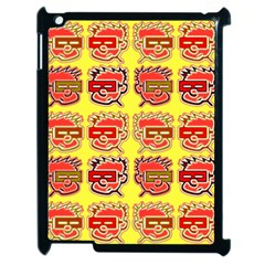 Funny Faces Apple Ipad 2 Case (black) by Amaryn4rt