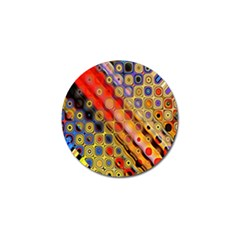 Background Texture Pattern Golf Ball Marker by Amaryn4rt