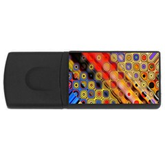 Background Texture Pattern Usb Flash Drive Rectangular (4 Gb) by Amaryn4rt