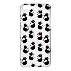 Cat Seamless Animal Pattern Apple Iphone 5c Hardshell Case by Amaryn4rt