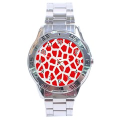 Animal Animalistic Pattern Stainless Steel Analogue Watch by Amaryn4rt