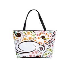 Flower Floral Rose Sunflower Bird Back Color Orange Purple Yellow Red Shoulder Handbags by Alisyart