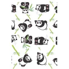 Panda Tile Cute Pattern 5 5  X 8 5  Notebooks