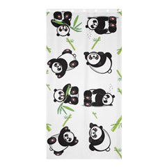 Panda Tile Cute Pattern Shower Curtain 36  X 72  (stall)  by Amaryn4rt