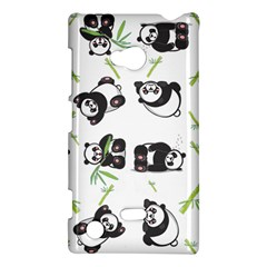 Panda Tile Cute Pattern Nokia Lumia 720 by Amaryn4rt