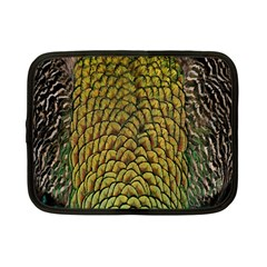 Colorful Iridescent Feather Bird Color Peacock Netbook Case (small)  by Amaryn4rt