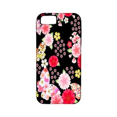 Flower Arrangements Season Rose Butterfly Floral Pink Red Yellow Apple Iphone 5 Classic Hardshell Case (pc+silicone) by Alisyart
