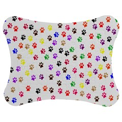 Paw Prints Background Jigsaw Puzzle Photo Stand (bow)