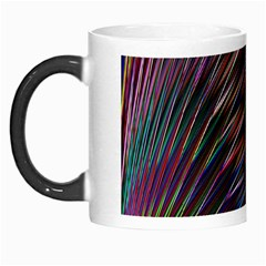 Texture Colorful Abstract Pattern Morph Mugs by Amaryn4rt