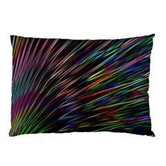 Texture Colorful Abstract Pattern Pillow Case by Amaryn4rt