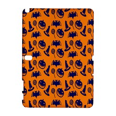 Witch Hat Pumpkin Candy Helloween Blue Orange Galaxy Note 1 by Alisyart