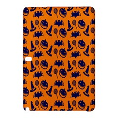 Witch Hat Pumpkin Candy Helloween Blue Orange Samsung Galaxy Tab Pro 12 2 Hardshell Case by Alisyart