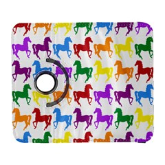 Colorful Horse Background Wallpaper Galaxy S3 (flip/folio) by Amaryn4rt