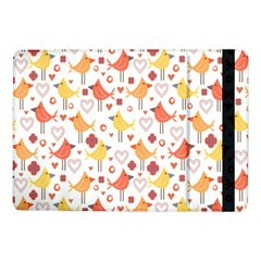 Animal Pattern Happy Birds Seamless Pattern Samsung Galaxy Tab Pro 10 1  Flip Case by Amaryn4rt