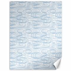 Wind Waves Grey Canvas 36  X 48   by Alisyart