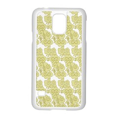 Waves Flower Samsung Galaxy S5 Case (white) by Alisyart