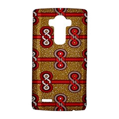 African Fabric Iron Chains Red Purple Pink Lg G4 Hardshell Case by Alisyart
