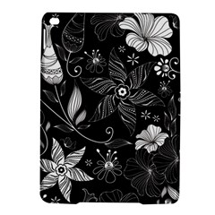 Floral Flower Rose Black Leafe Ipad Air 2 Hardshell Cases by Alisyart
