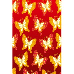 Butterfly Gold Red Yellow Animals Fly 5.5  x 8.5  Notebooks by Alisyart