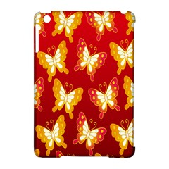 Butterfly Gold Red Yellow Animals Fly Apple Ipad Mini Hardshell Case (compatible With Smart Cover) by Alisyart