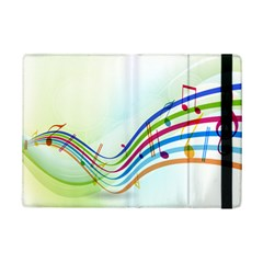 Color Musical Note Waves Ipad Mini 2 Flip Cases by Alisyart
