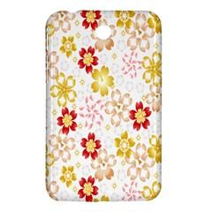 Flower Arrangements Season Rose Gold Samsung Galaxy Tab 3 (7 ) P3200 Hardshell Case  by Alisyart