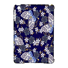 Butterfly Iron Chains Blue Purple Animals White Fly Floral Flower Apple Ipad Mini Hardshell Case (compatible With Smart Cover) by Alisyart