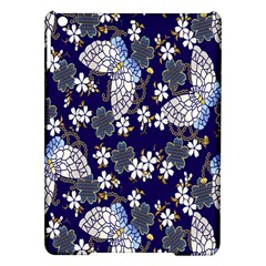 Butterfly Iron Chains Blue Purple Animals White Fly Floral Flower Ipad Air Hardshell Cases by Alisyart