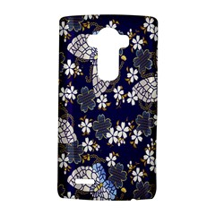 Butterfly Iron Chains Blue Purple Animals White Fly Floral Flower Lg G4 Hardshell Case by Alisyart