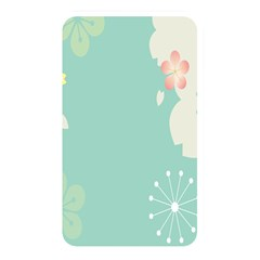 Flower Blue Pink Yellow Memory Card Reader by Alisyart