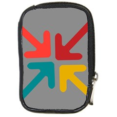 Arrows Center Inside Middle Compact Camera Cases by Amaryn4rt